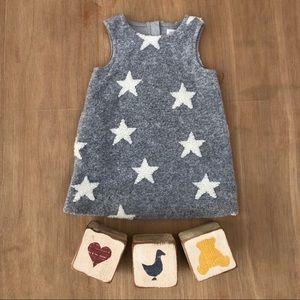 Baby Gap Stars Grey Dress 2t
